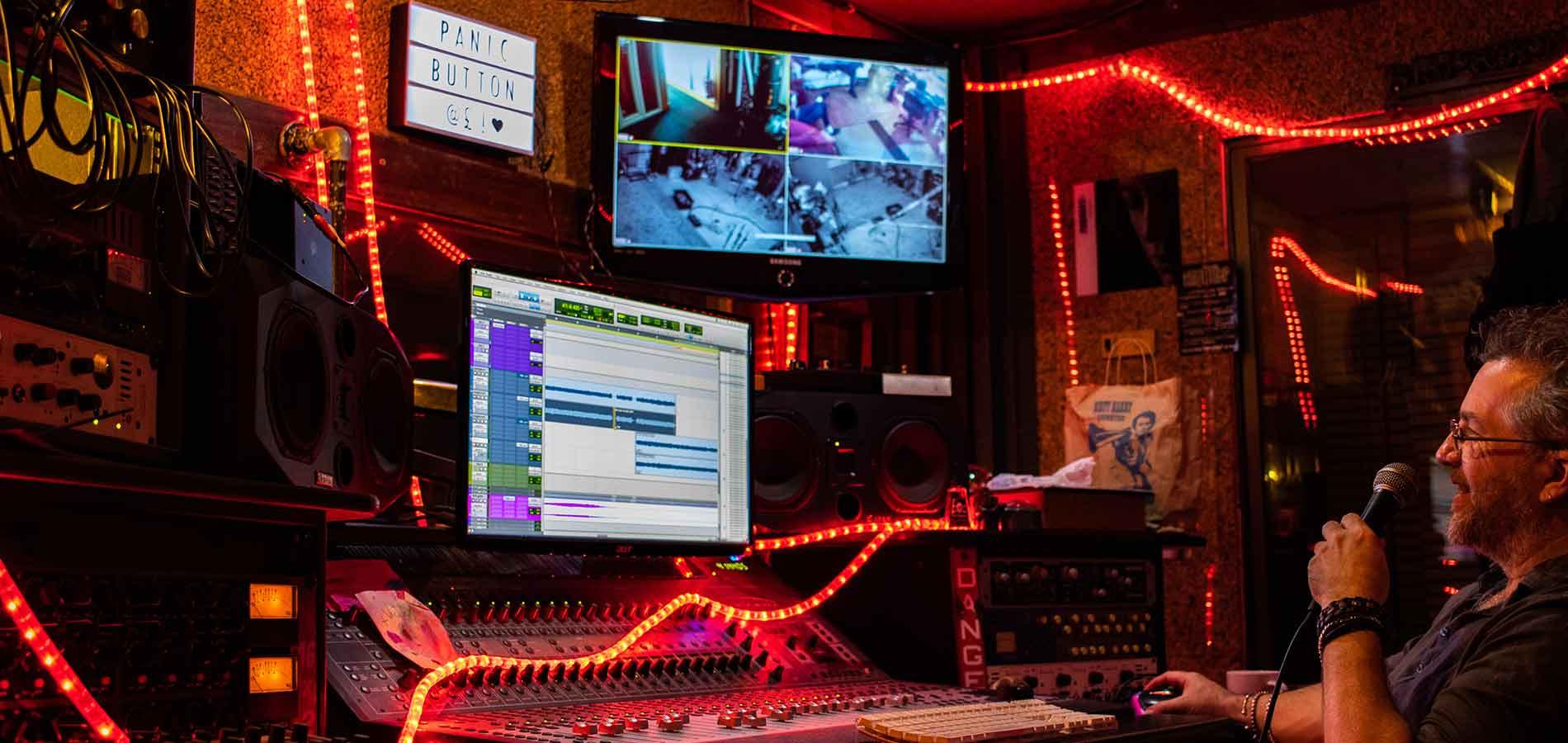Steve Lyon at PanicButton Studios